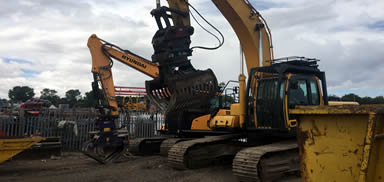 demolition plant hire manchester