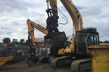 demolition plant for hire manchester